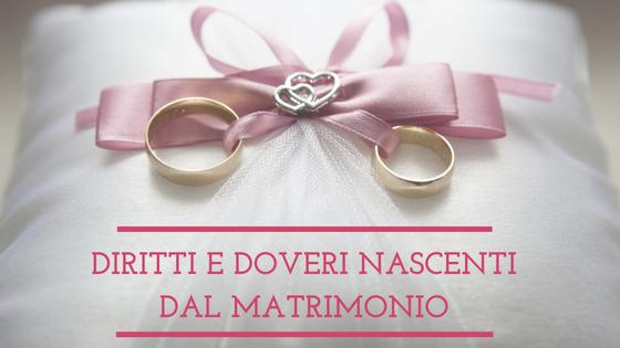 """Diritti e doveri nascenti dal matrimonio """"Simona Fontana"""""""
